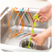 vanzlife kitchen drain sewer cleaning hook for household sink drain the toilet to clear blockades clean hooks(China (Mainland))