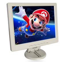 "10.4"" LCD monitor, Resolution 1400*1050, can be used as desktop Computer display, VGA+AV+TV+HDMI+usb PORT white, USED AS TV(China (Mainland))"