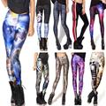 Hot Sexy Digital 3D Printed All Match Leggings Summer Spring Harajuku Finess Women Sports Leggins Creative