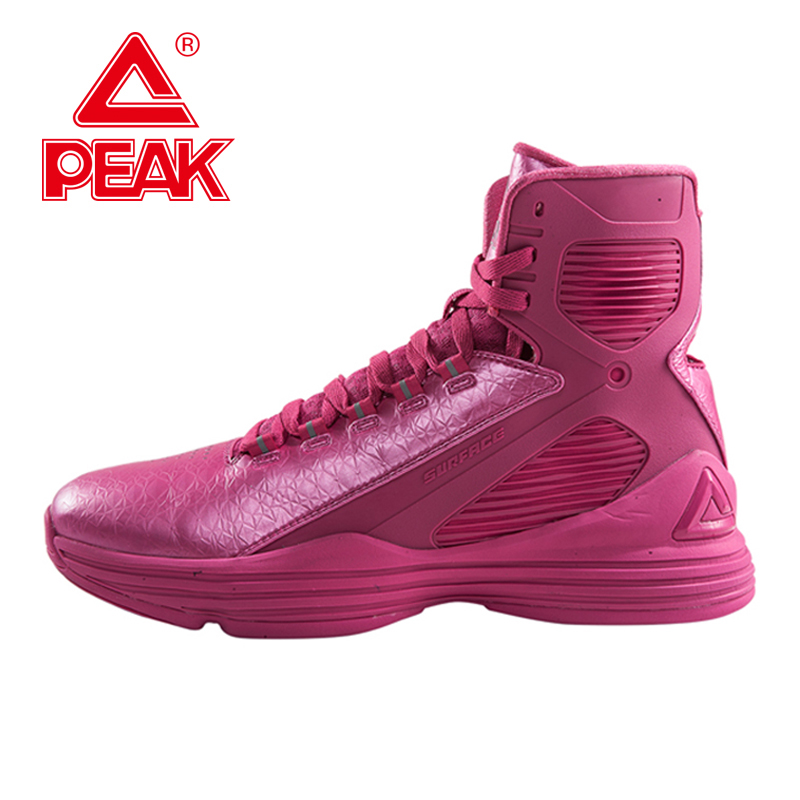 PEAK SPORT GALAXY IV Star Models Boots Men Women Basketball Shoes Gradient Dual FOOTHOLD Tech High Top Sneakers Size EUR 40-48(China (Mainland))