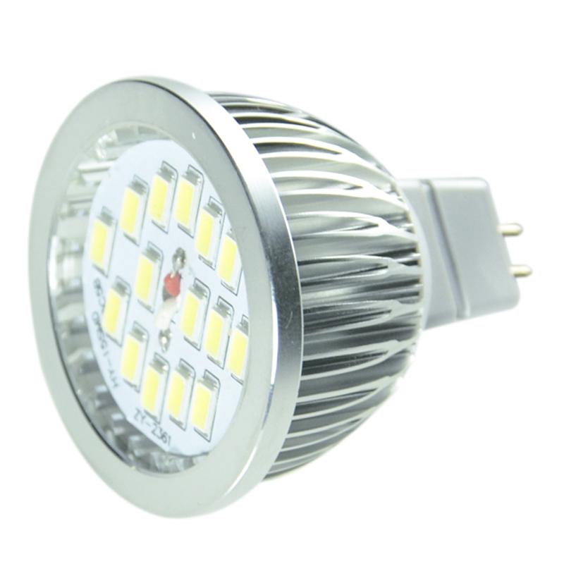 High brightness 5730 SMD 15leds GU10 LED bulb lamp, 90-260V, led Spot light,White/Warm white, led lighting(China (Mainland))