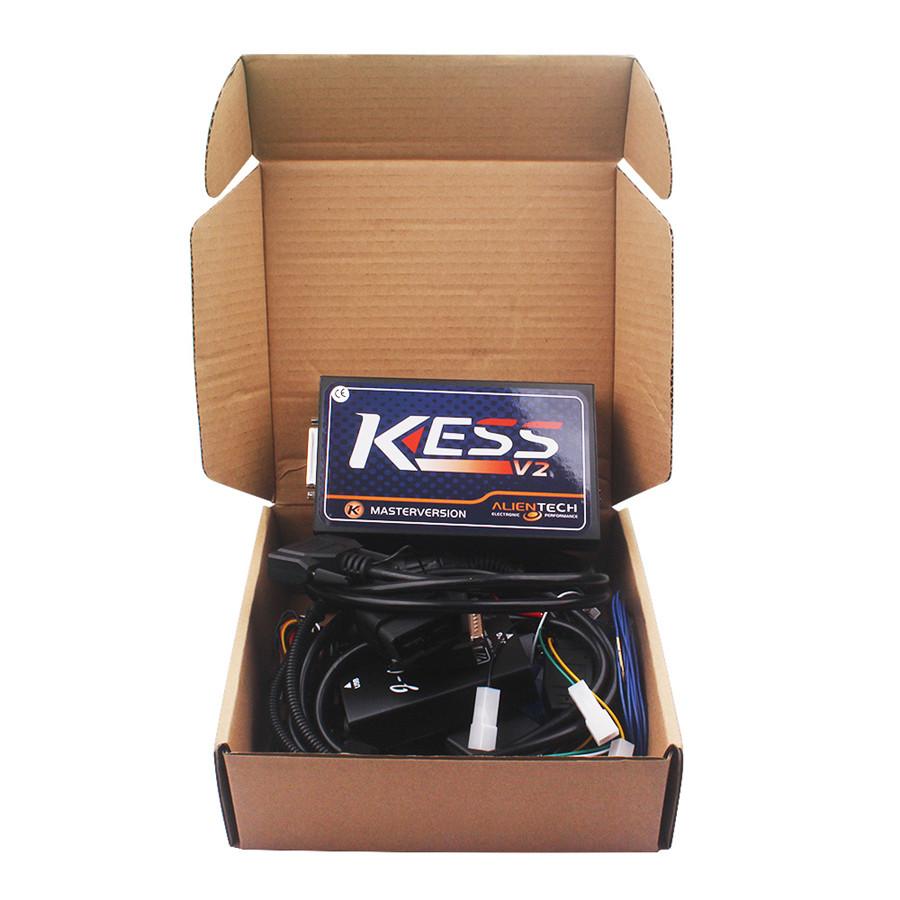 Newest Firmware V3.099 V2.15 KESS V2 Master Version no token limited KESS V2 2.15 OBD2 Manager Tuning Kit(China (Mainland))