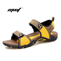 New Color Men s sandals Summer Outdoor Casual Shoes Flat Beach Sandals male slippers for Men