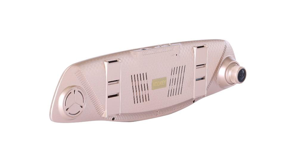 Купить ADDKEY автомобилей видеорегистраторы 5 дюймов Новатэк 96655 зеркало заднего вида автомобильный видеорегистратор FHD 1080 P видеорегистратор с двумя объективами камера автомобиля ночного видения тире cam