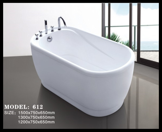 com buy small size colorful free standing acrylic baby bathtub
