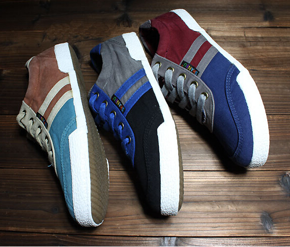 2015 fashion design canvas shoes leisure sports in British men's canvas shoes men's shoes flat shoes with high quality(China (Mainland))