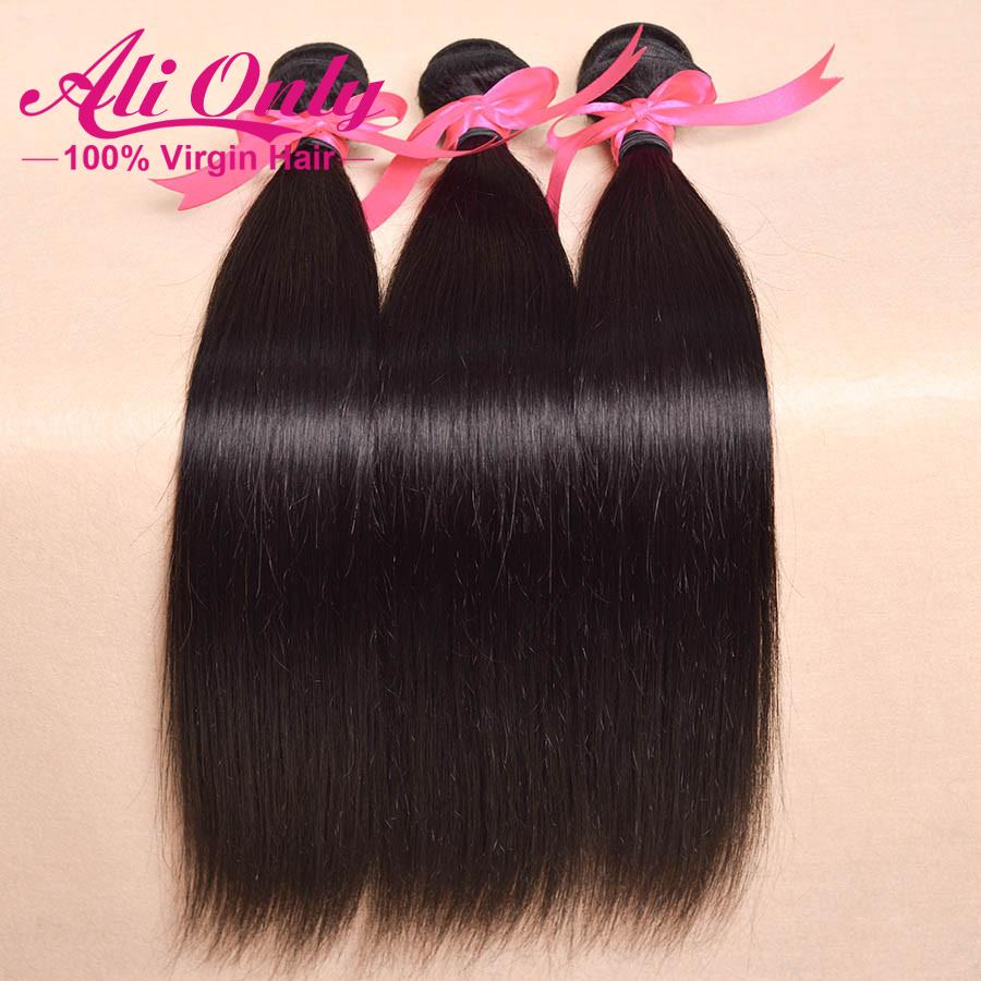 Grade 5a brazilian virgin hair straight 8-30 cheap brazilian hair weave bundles 3pcs lot no mix human hair extension very soft<br><br>Aliexpress
