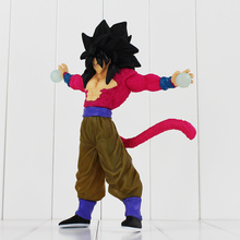 Buy 26cm New Hot Anime Dragon Ball GT Super Saiyan 4 Sun Goku PVC Action Figure Model Collection Toy Doll Box Free for $14.39 in AliExpress store