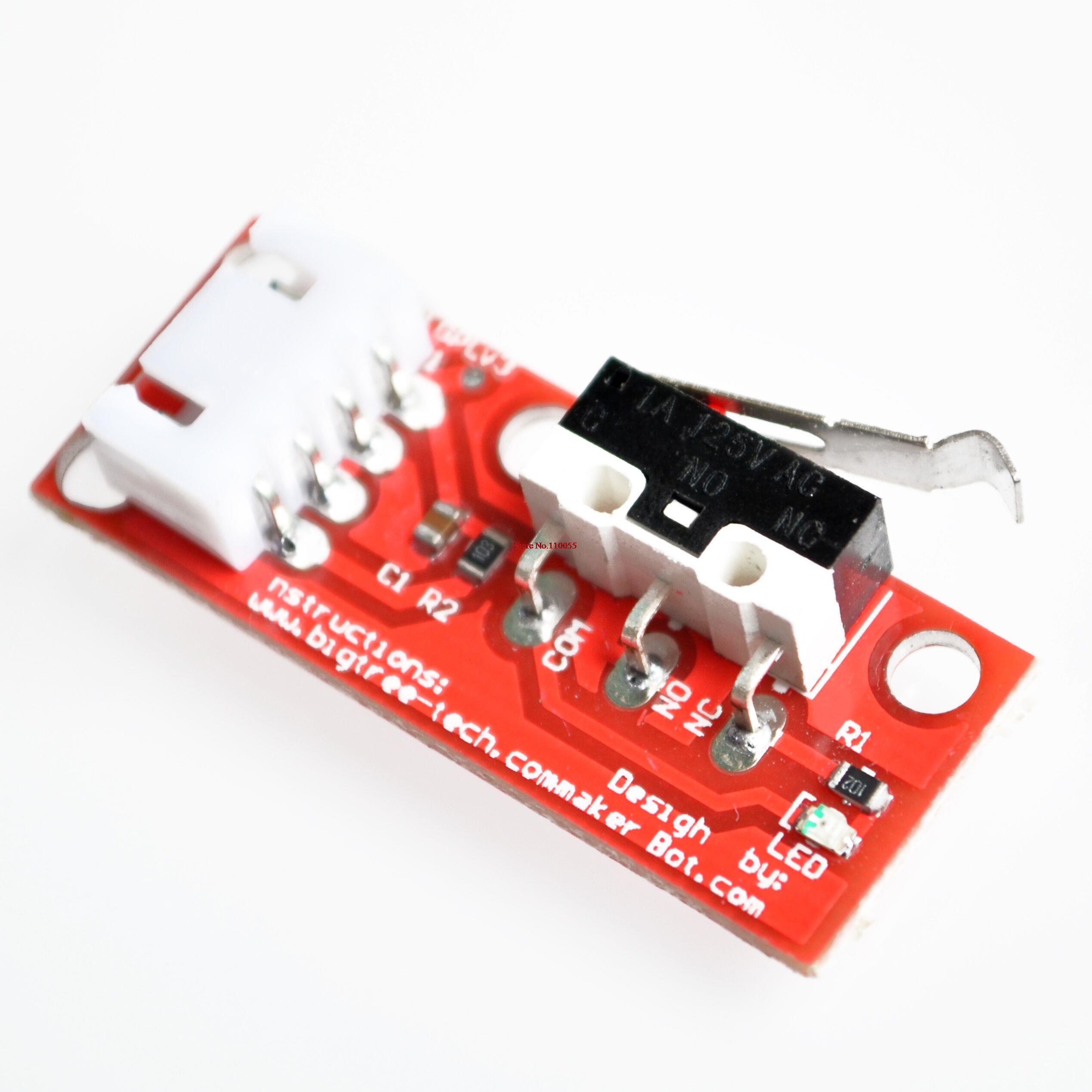 6 компл./лот фиксатор механический выключатель 3d принтера для платформы 1.4
