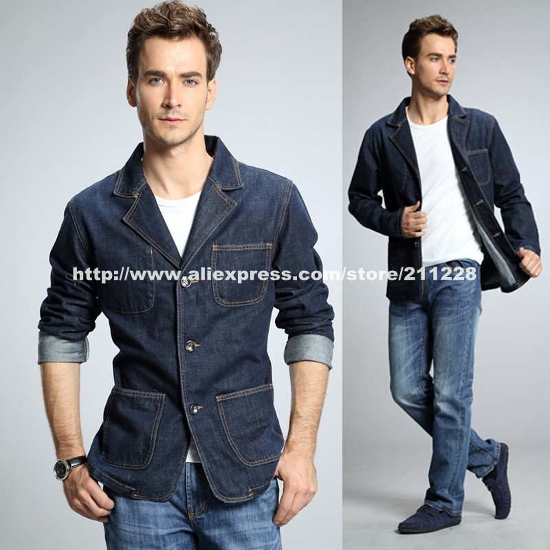 Mens Casual Blazer with Jeans Promotion-Shop for Promotional Mens