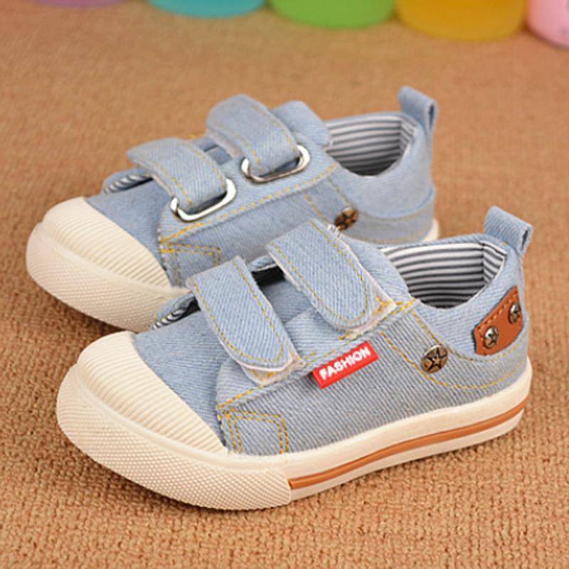 Dark Blue Light Blue 2015 Boys Girls Children Canvas Shoes Kids Canvas Sneakers Size 21-25<br><br>Aliexpress