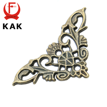 10PCS KAK Bronze Jewelry Box Book Butterfly Corner Bracket Antique Frame Accessories Notebook Menus Corner Decorative Protector(China (Mainland))