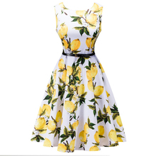 Buy 2017 vintage women dress fashion belt decoration round neck party Summer dresses sleeveless bodycon print dress plus size LLD08 for $11.67 in AliExpress store