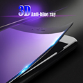 Front tempered glass back translucent film protector 3D tempered glass for iphone 7 7plus carbon fibre