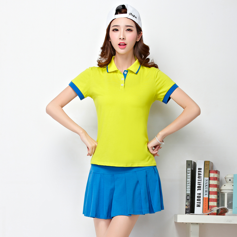 6023 In the summer Tennis skirts Sport suit Short skirt The female badminton clothing Leisure culottes(China (Mainland))