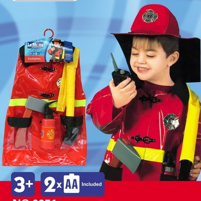 Children Party Cosplay Costume Halloween Costumes For Kids Fire Fighters Fancy Dress Performing Carnival Costumes CC0221(China (Mainland))