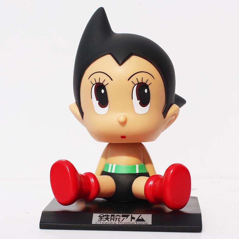"Anime Cartoon Astro boy Toys PVC Figures Dolls Wacky Wobbler Kids Toy Gifts for Children 5"" 12CM(China (Mainland))"