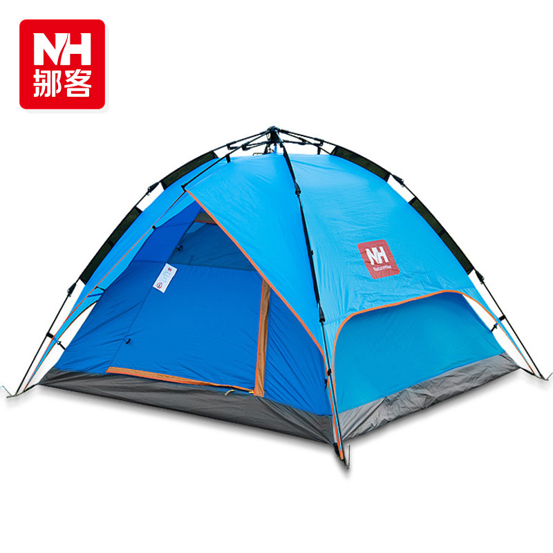 NH Outdoor automatic tent 2-3-4persons waterproof outdoor tent camping camping speed open(this link not include the floor mat)<br><br>Aliexpress