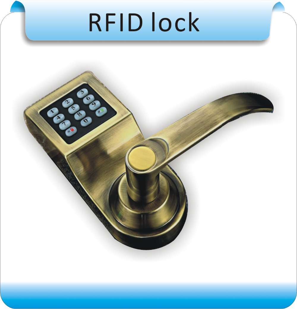 Гаджет  DIY RFID 125KHZ EM +Keypad Digital Smart Eletronica Door Electric Lock  Access teclado Control for Office/Apartment/Hotel None Безопасность и защита