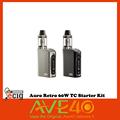 100 Original New Ecig Auro Retro 60w TC Starter Kit VS TESLACIGS NANO 60W MOD Electronic
