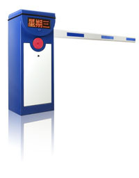 LED screen barrier gate