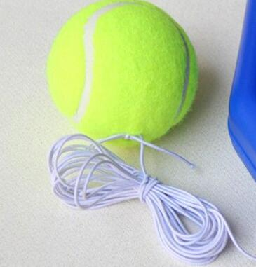Outdoor Tennis Training Ball Durable Tennis Balls With Elastic Rubber Band<br>