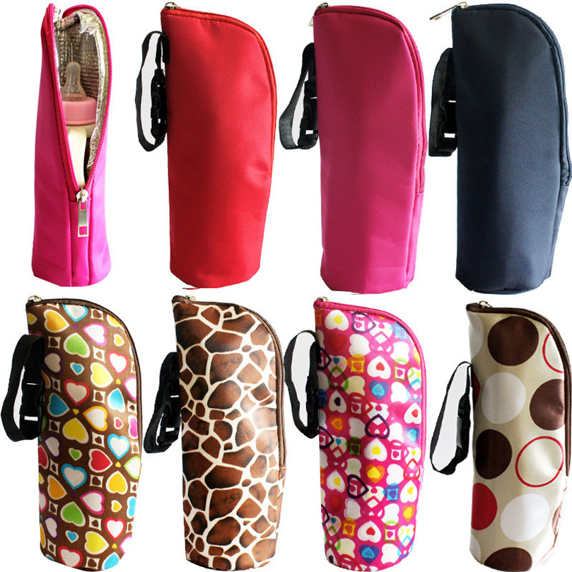Scolour New Baby Thermal Feeding Bottle Warmers Mummy Tote Bag Hang Stroller(China (Mainland))