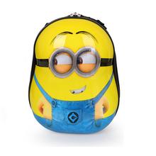 13 Inch Cute Baby Children School Bag 3D kids character minion backpacks boy Backpacks Shell animal kindergarten school bag(China (Mainland))