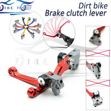 Buy new foldable motorcycle brake clutch levers red dirt bike cnc clutch brake lever HONDA CRM250R/AR 1994 1995 1996 1997 1998 for $20.24 in AliExpress store