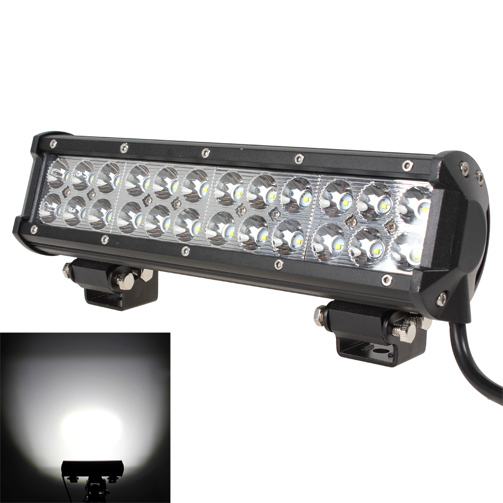"""NEW 12"""" 12V / 24V 5760LM 72W Waterproof LED Car Work Light Bar for Truck / Trailer / 4x4 / 4WD / SUV / ATV / OffRoad / Car(China (Mainland))"""