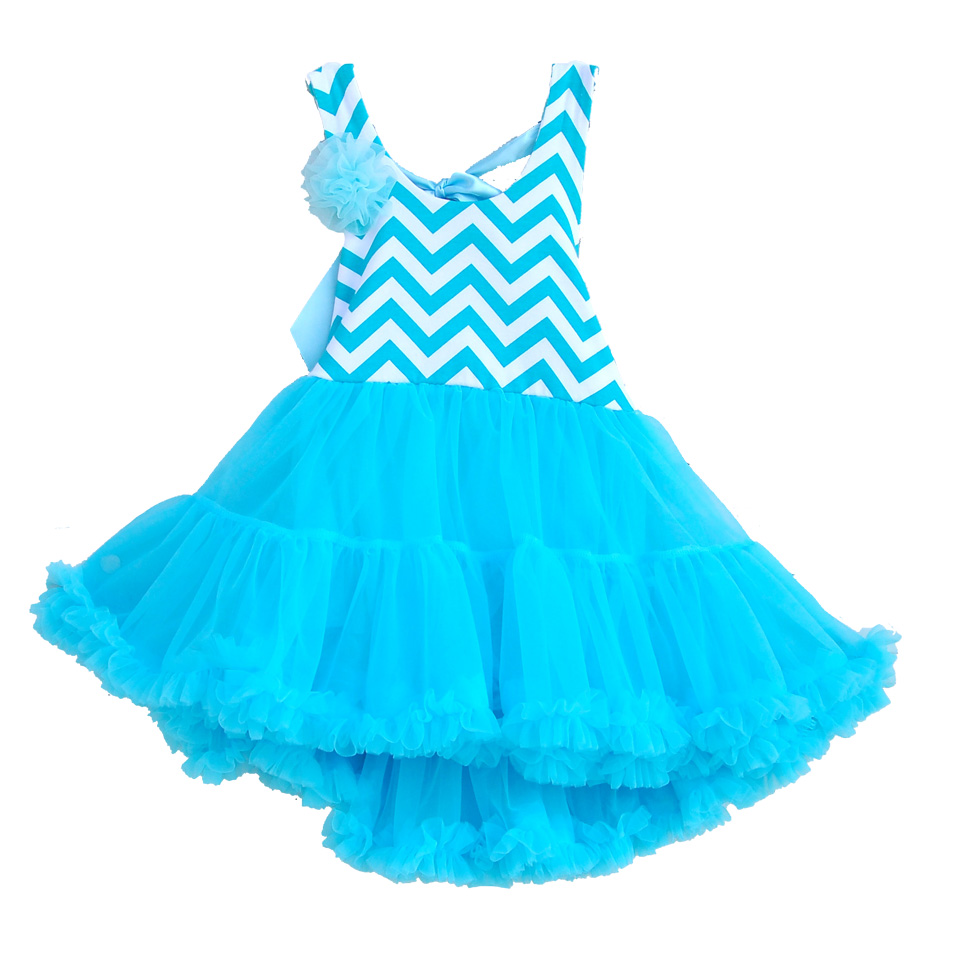 New Style Children Clothing Flower Girl Dress Sky Blue Baby Girl Lace Dresses Party Dress Girls Tutu Dress Tutu04 BB<br><br>Aliexpress