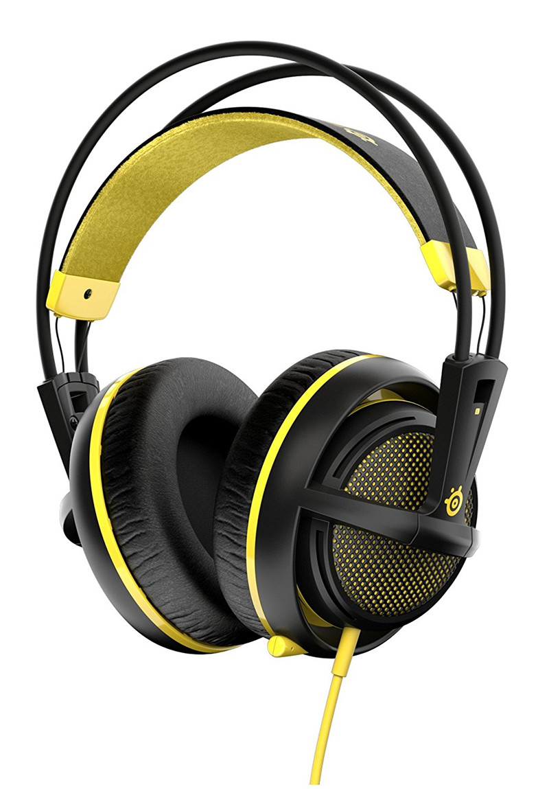 SteelSeries Siberia 200 Full-Size Gaming Headphone For PC, Mac,Tablets, and Phones PRO Gaming Headset Fast shipping(China (Mainland))