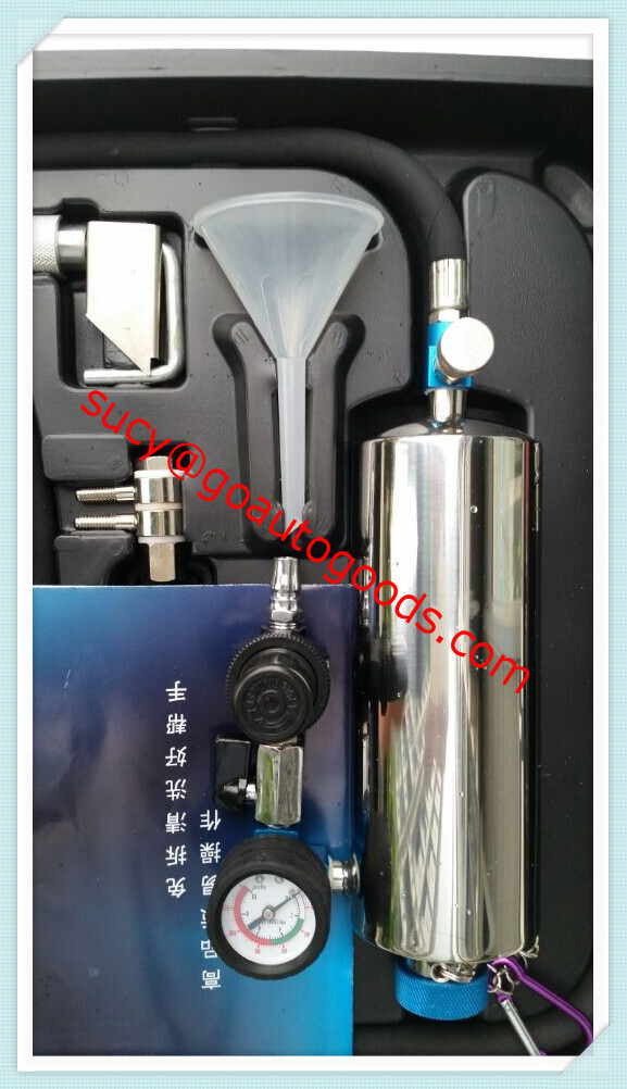 Fuel Injector cleaner and tester fsc100 with Non-dismantle cleaning Adaptors FSC-100 NON-DISMANTLE(China (Mainland))