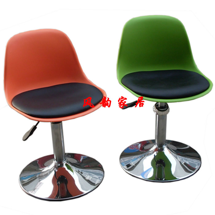Simple and stylish bar stool lift reception parlor leisure children turn a small coffee chair<br><br>Aliexpress