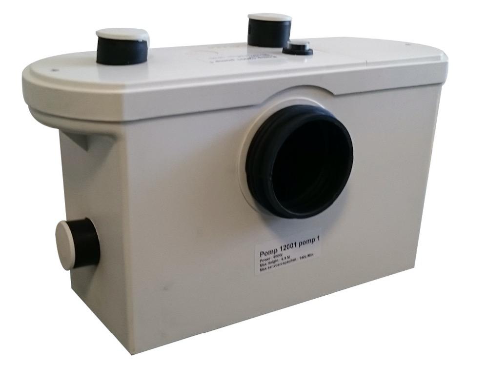 Free shipping!! 220V AC Sewerage Pump for toilet drain pump(China (Mainland))