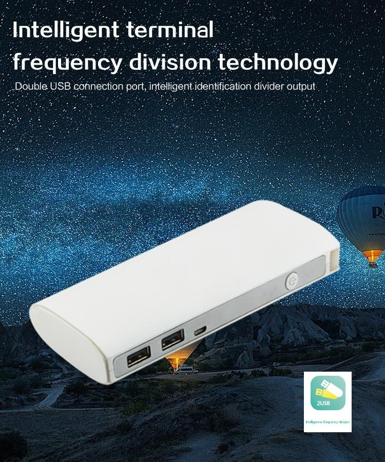 Красочные зарядное устройство 10400 мач портативное зарядное устройство powerbank внешняя батарея для резервного копирования мобильный телефон полномочия со светом