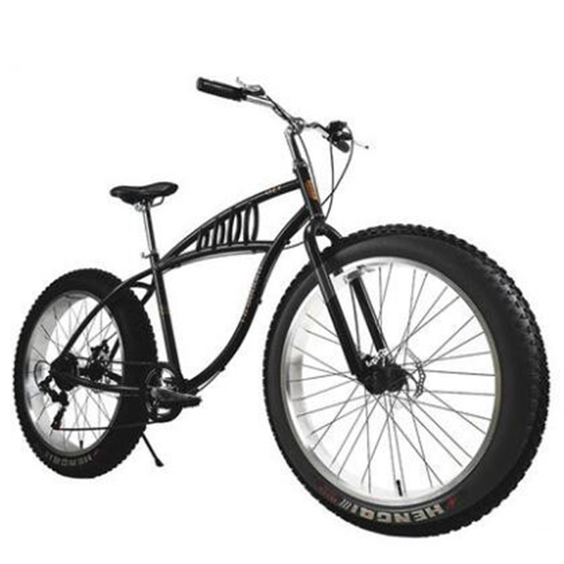 variable speed beach bike snowfield bike 4.0 widen tires cross-country mountain bicycle
