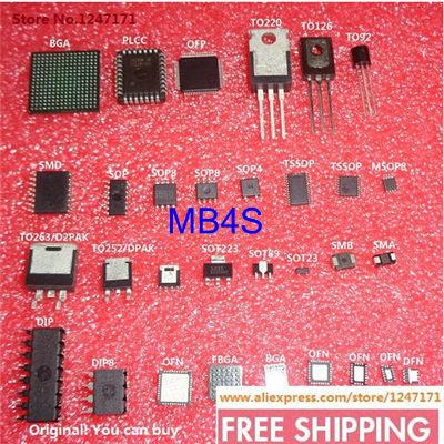 FREE SHIPPING 60PCS/LOT MB4S 0.5A 400V 4SOIC MB4S 4 MB4 4S MB 4S(China (Mainland))