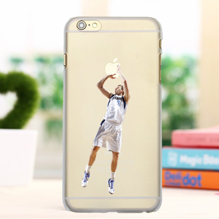 Super Star Basketball Dunk Phone Cases for iPhone 6/6S Jordan PC Hard Transparent Shell Back Cover for iPhone 6 6S Case