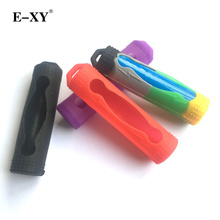 Buy E-XY Electronic cigarettes Mod box Vape vaporizer 18650 Battery Silicone Cases Protective Covers Colorful Soft Rubber Skin 10Pcs for $6.88 in AliExpress store