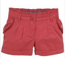 Catimini многоцветные шорты 100% хлопок девочка брюки