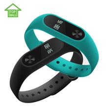 Original Xiaomi Mi Band 2 Smart band OLED display touchpad heart rate monitor Bluetooth 4.0 fitness tracker(China (Mainland))