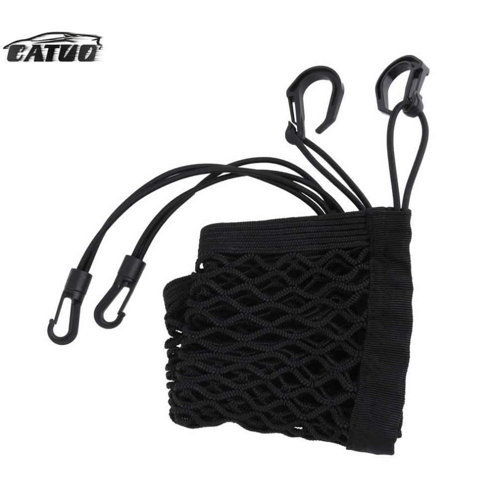 Universal Car Net Seat Storage Mesh Organizer Bag Luggage Holder Pocket for iphone cell phone hot sale(China (Mainland))