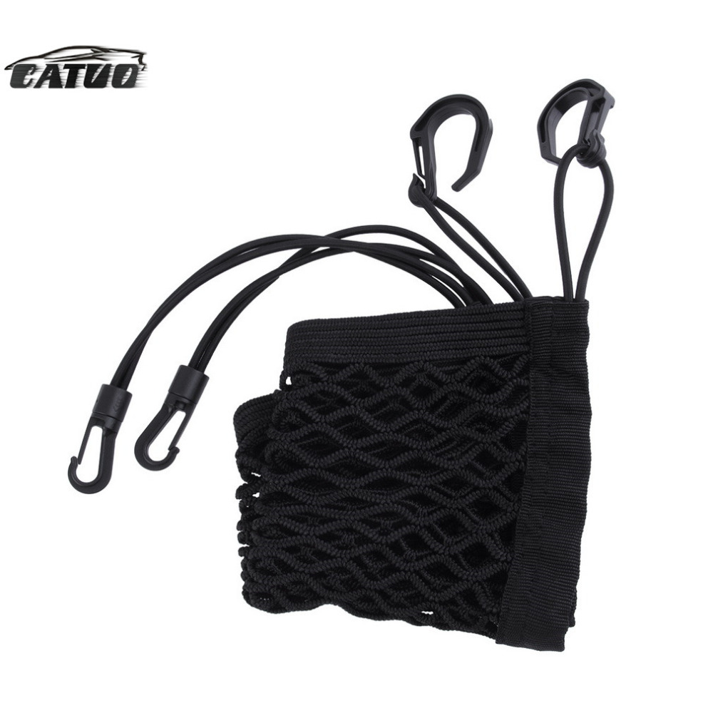 Universal Car Net Seat Storage Mesh Organizer Bag Luggage Holder Pocket for iphone cell phone hot sale(China (Mainland))