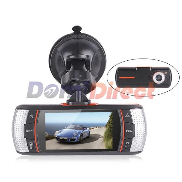 F90G 1920 * 1080P Car Camera Video Registrator Car DVR HD Video Recorder Novatek Dual Camera External IR Rear Camera DVR Car(China (Mainland))
