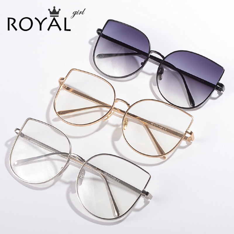 Old Glasses Frames New Lenses : ROYAL GIRL New brand designer Women eyeglasses frames ...