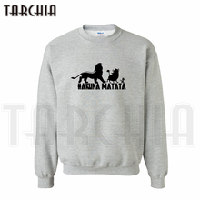 TARCHIA 2016 Free Shipping fashion lovely sweatshirt personalized Simba Timon Pumbaa man coat casual homme boy women wear