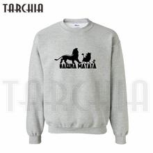 TARCHIA 2016 Free Shipping fashion lovely sweatshirt personalized Simba Timon Pumbaa man coat casual homme boy women wear