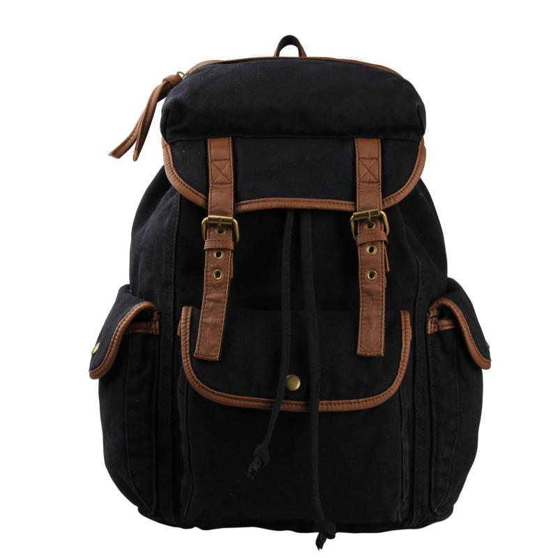 VEEVAN Brand Vintage Backpack 2016 Fashion Women Shoulder Bag School Laptop Canvas Backpack Female Outdoor Sport Travel Bags(China (Mainland))