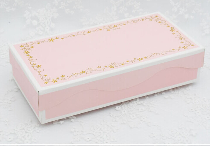 23.3*11.8*5CM large pink boxes, gift boxes for wedding , handmake cupcake box , packaging boxes(China (Mainland))